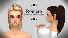 Ivo-Sims: Romero free hairstyle • Sims 4 Downloads