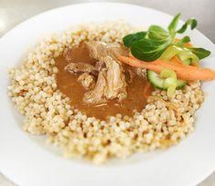 Denné menu Vranov | Bravčové dusené na rasci, slovenská ryža - reštaurácia Hotel Patriot*** #hotel #restaurant