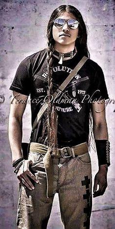 ~ Living a Beautiful Life ~ Coco Brings Plenty - Lakota. //Love this photo EL// Native American Actors, Native American Wisdom, Native American Pictures, Native American Beauty, Native American History, American Pride, American Indians, Indian Man, Native Indian