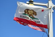California Flag California Flag, Santa Barbara, Bear, Bears