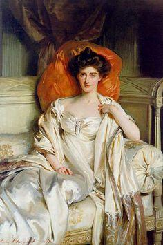 """Mrs Huth Jackson [nee Annabel Grant Duff]"" (1907) John Singer Sargent"