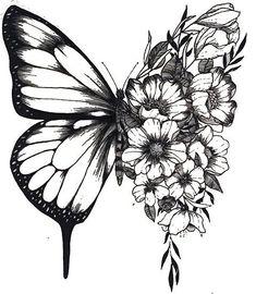 flower half sleeve tattoos for women outline - flower half sleeve tattoos for women outline Mini Tattoos, Flower Tattoos, Body Art Tattoos, New Tattoos, Small Tattoos, Tatoos, Medium Size Tattoos, Cute Girl Tattoos, Couple Tattoos