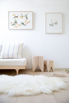 | MODERN + KID | I love nurseries and children's room decorated with natural materials. Wood and rattan combined with neutral colors such as (off) white, brown and grey create a warm and serene atmosphere.