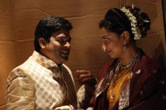 Bharat jadhav and kranti redekar in kGDKG