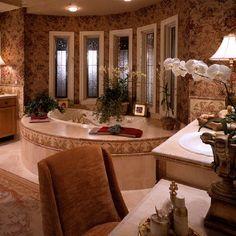 Beautiful bathroom design, by Karen Butera Design Inc.