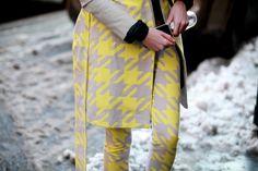 Street looks à la Fashion Week automne-hiver 2013-2014 à New York, Jour 1