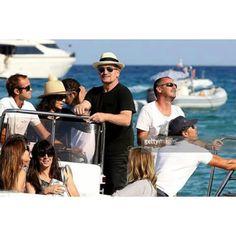 #Bono & Ali / Noel Gallagher & Sacha Baron / St. Tropez's Club 55.