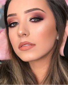 makeup tips ideas life hack nose contour eye makeup eyeshadow natural makeup Makeup Goals, Makeup Tips, Hair Makeup, Makeup Trends, Pinterest Makeup, Bridal Makeup Looks, Makeup Primer, Blue Makeup, Edgy Makeup