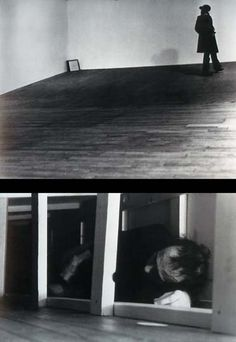 "Vito Acconci ""Seedbed"" ""I never wanted to be political: I wanted the work to be politics."""