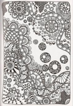 Tangle 85  # #ZentangleDesign