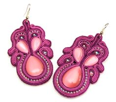 kolczyki sutasz soutache earrings 19