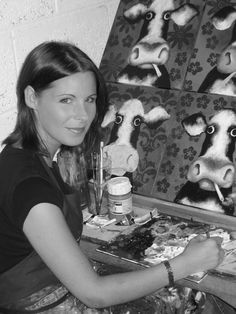 Caroline Shotton #art #artists #cows