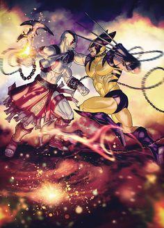 Wolverine :: x-men :: kratos :: batman :: assassin's creed :: dc Video Game Characters, Marvel Characters, Fictional Heroes, Assassins Creed Game, Geek Art, Marvel Vs, God Of War, Disney Fan Art, Cultura Pop