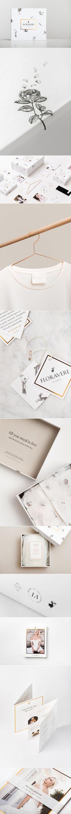 Floravere Wedding Gowns — The Dieline - Branding & Packaging Design