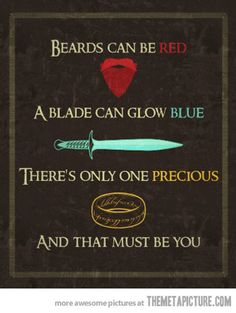 Lord of the Rings Valentine  Happy VDay!