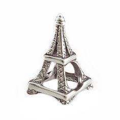 PARIS EIFFEL TOWER Charm Bead 925 Sterling Silver Fits Trollbeads Chamillia Biagi & All Popular Brands of European Charm Bracelets