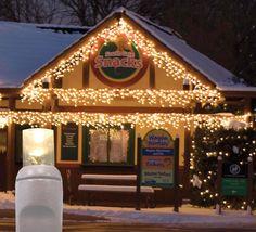 70 led twinkle wide angle warmsoft white icicle light set white wire christmas lights
