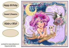 Sweet Dreams by Gail Collins lovely card that any one would love xxx