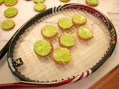 tennis ball cookies | Subee's Kitchen