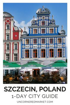 A 1 day guide to exploring Szczecin, Poland, a town that makes for the perfect day trip from Berlin. While some might argue it's a train too far, we say that part of the fun lies in the journey itself! Travel in Europe. | Uncornered Market Travel Blog