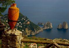Capri Beautiful Landscapes, Monument Valley, Landscape Photography, Capri, Italy, Colours, Amazing, Places, Travel