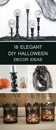 20+ Cheap and Easy DIY Halloween Decorations → Easy DIY and - cheap diy halloween decorations