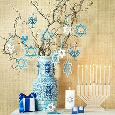 15 ideias para decorar a casa com velas para o Hanukkah