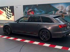 Audi RS6 Grigio Opaco Metallic