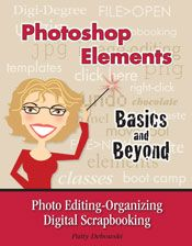 This is the BEST book for Photoshop Elements!!!! I bought other books but this is sooooo much easier to use and understand for digital scrapbooking with your own photos