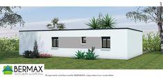 Plan achat maison neuve à construire - Bermax BOOK-2014-MAISON CONTEMPORAINE - 86.69 m²