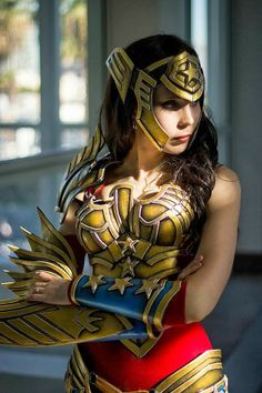 Fashion and Action: Warrior Wonder Woman by Kamui Cosplay ...