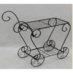"""Home Hardware - 24"""" Wire Plant Stand/Cart"""