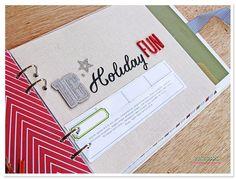 Sassy Scrapper: Let's create: December Days album 9-16