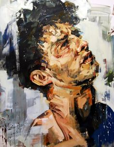 A Shapeless Doubt by Andrew Salgado  Quelle: azizalbraik #painting #malerei #art #kunst