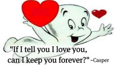 Casper the friendly ghost. One of my all time favorites!