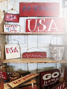 10 americana home decor finds - Americana Home Decor