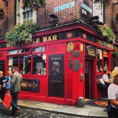 The Infamous Temple Bar, Dublin Ireland