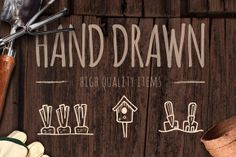 Check out 65 Hand Crafted Gardening Icons by Good Stuff, No Nonsense on Creative Market