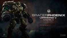 Pacific Rim Uprising Jaeger Bracer Phoenix Artwork by rs2studios