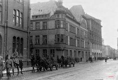 Bank Millenium (<i>Haus Werckmeister, Kommunal Sparkasse), Bydgoszcz - 1940 rok, stare zdjęcia
