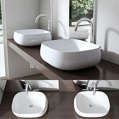 Doppelwaschtisch aufsatzwaschbecken  Waschtisch aus Altholz | Badezimmer | Pinterest | Altholz ...