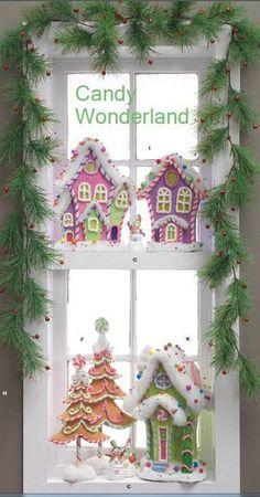 Window Display-Candy Wonderland
