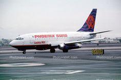 america west airlines   ... 737-112, America West Airlines AWE, 737-100 series, JT8D-9A, JT8D
