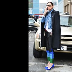 Jenna Lyons. All of the layers.