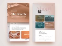 The Deserts by yolky #Design Popular #Dribbble #shots