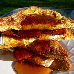 French Egg and Bacon Sandwich - Allrecipes.com