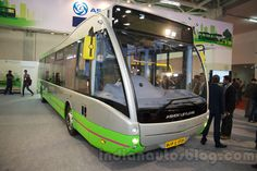 Ashok Leyland Optare Versa EV at the Bus and Special Vehicles Show 2015