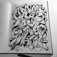 La gente de dont panic ha tenido una iniciativa muy interesante ver esta foto do instagram de rico79 1817 curtidas graffiti font alphabet altavistaventures Gallery