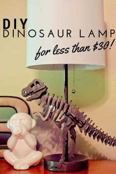 Dinosaur bedroom ideas you can DIY for your little one. Get 4 different DIY ideas for a dinosaur bedroom you'll love to create for your kids room, plus create your own pillows and blankets Big Boy Bedrooms, Kids Bedroom, Bedroom Ideas, Nursery Ideas, Boy Rooms, Bedroom Designs, Pastel Color Scheme, Chambre Nolan, Dinosaur Nursery