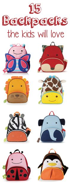 15 Backpacks Your Kids Will Love - Pretty My Party